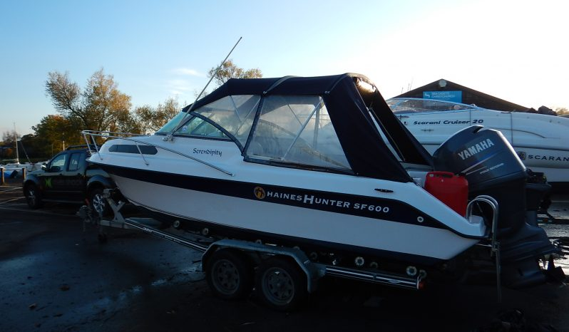 Haines Hunter SF600 with a Yamaha 150hp 4-Stroke For Sale full