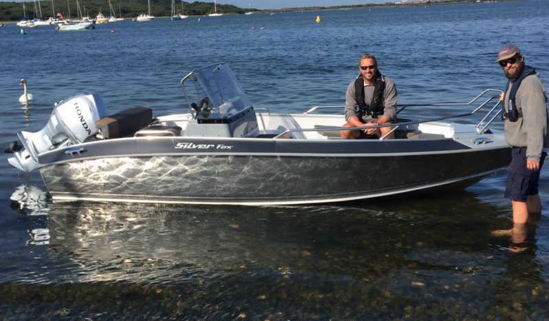New Silver Fox Avant Aluminium boat with Honda or Suzuki Outboard For Sale full