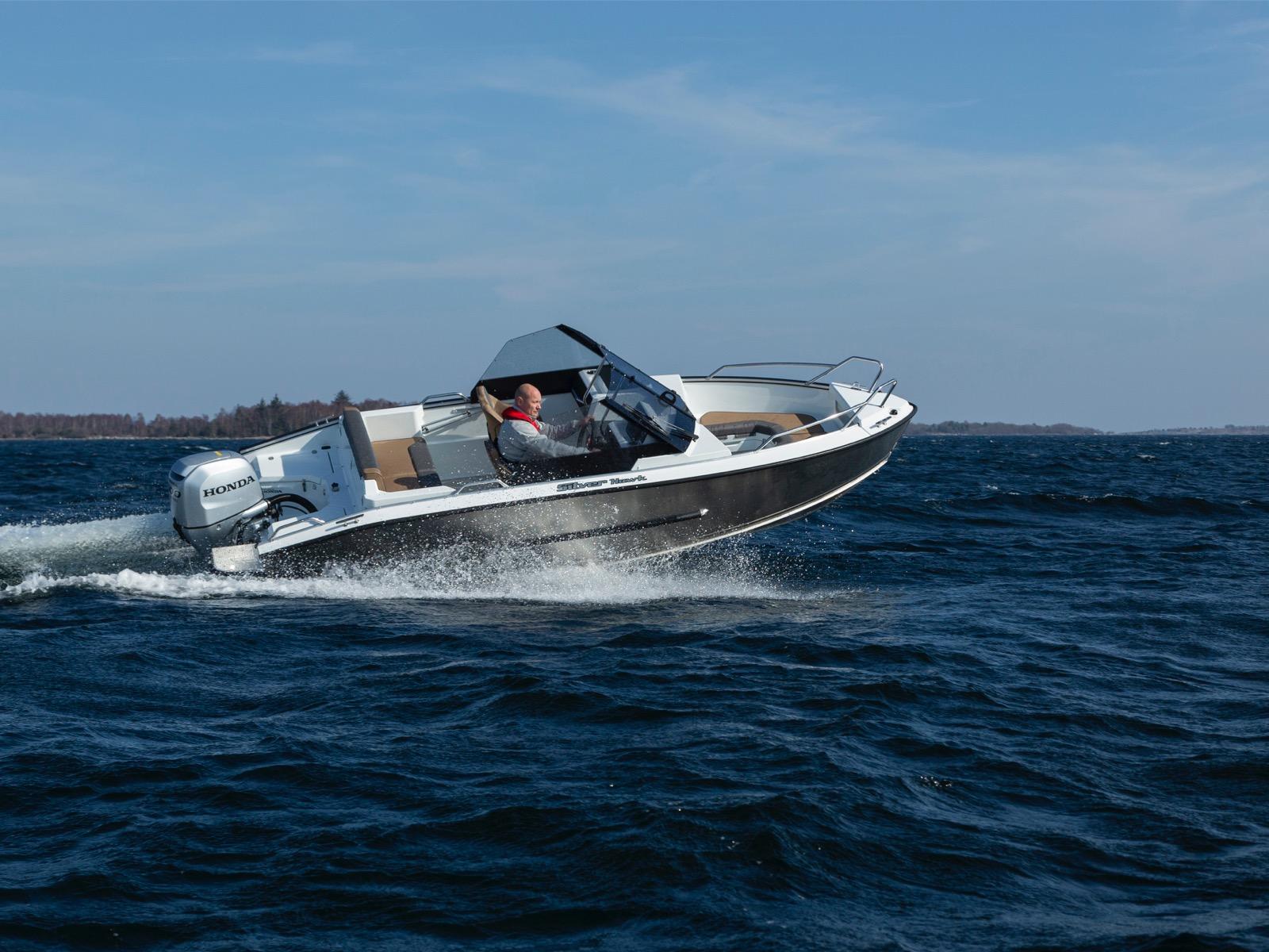 New Silver Hawk Aluminium Boat with Honda or Suzuki Outboard